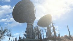 Fort Hagen satellite array