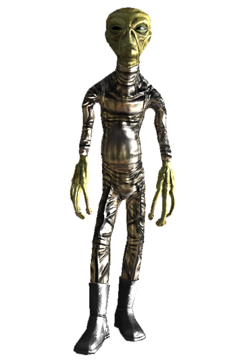 fallout 3 alien robots movie cast