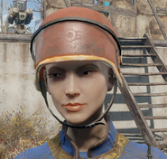 Security helmet fo4