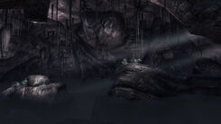 Two Skies Cave interior