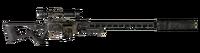 FNV sniper rifle Carbon Fiber Parts Suppressor