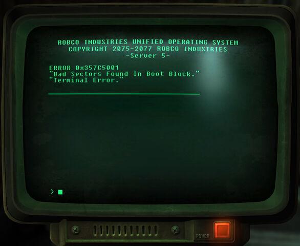 File:Bad sector boot block terminal error.jpg