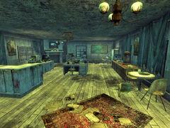 Zion Ranger Station interior