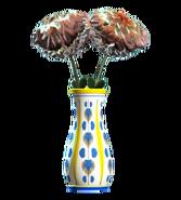 New floral flared vase