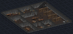 FO1 Boneyard Library basement