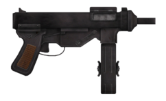 Vance's 9mm submachine gun