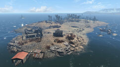 Spectacle Island From Above