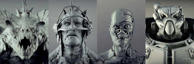 File:Fo4 creatures heads concept art.jpg