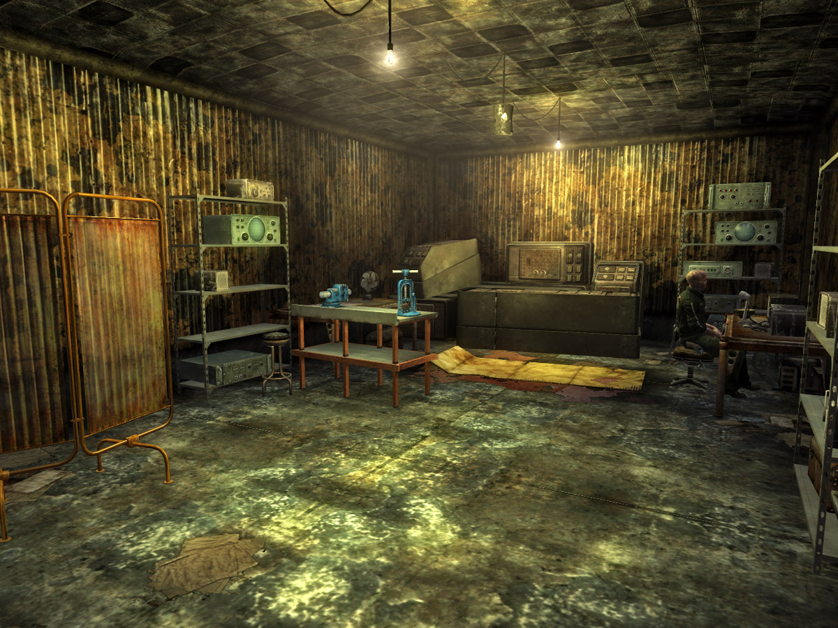 Image Prison Building Interior Jpg Fallout Wiki