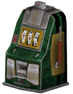 FNV green slotmachine