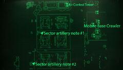 Fo3BS sector artillery notes