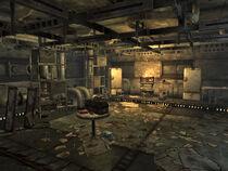 Sewer storage room