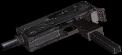 Rheinmetall 9mm machine pistol extended magazine hand