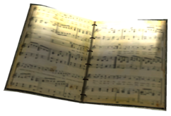 Sheet Music Book