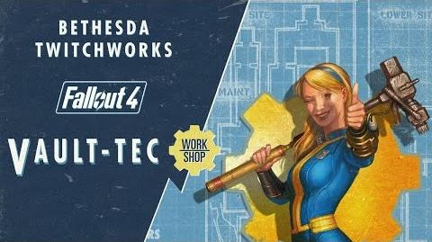Bethesda Plays Fallout 4 - Vault-Tec Workshop (Developer Walkthrough)