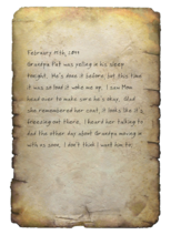 Eliza journal 1