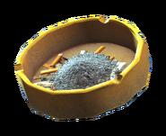 Dirty ashtray