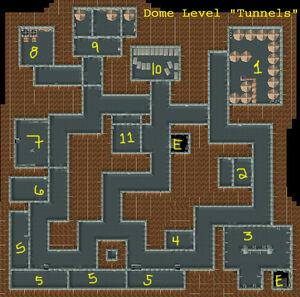VB DD03 map Boulder Dome Tunnels