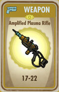 FoS Amplified Plasma Rifle Card