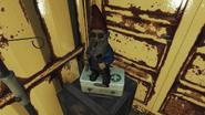 FO4FH Fringe Cove dock gnome