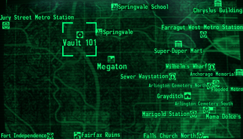 Dogmeat Fallout 3 Location On Map World Map 07