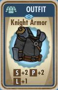 FoS Knight Armor Card