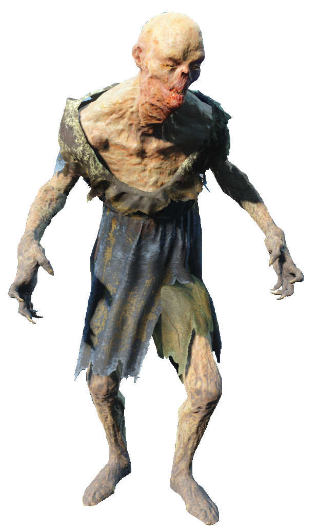 fallout 4 charred feral ghoul