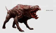 Art of FO4 Mutant Hound