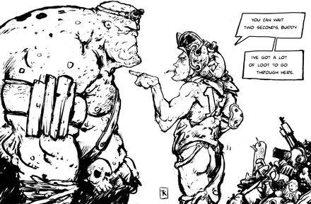 User Gothemasticator Fallout Cartoon