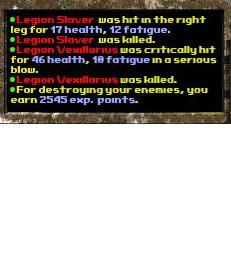 Legion encounter