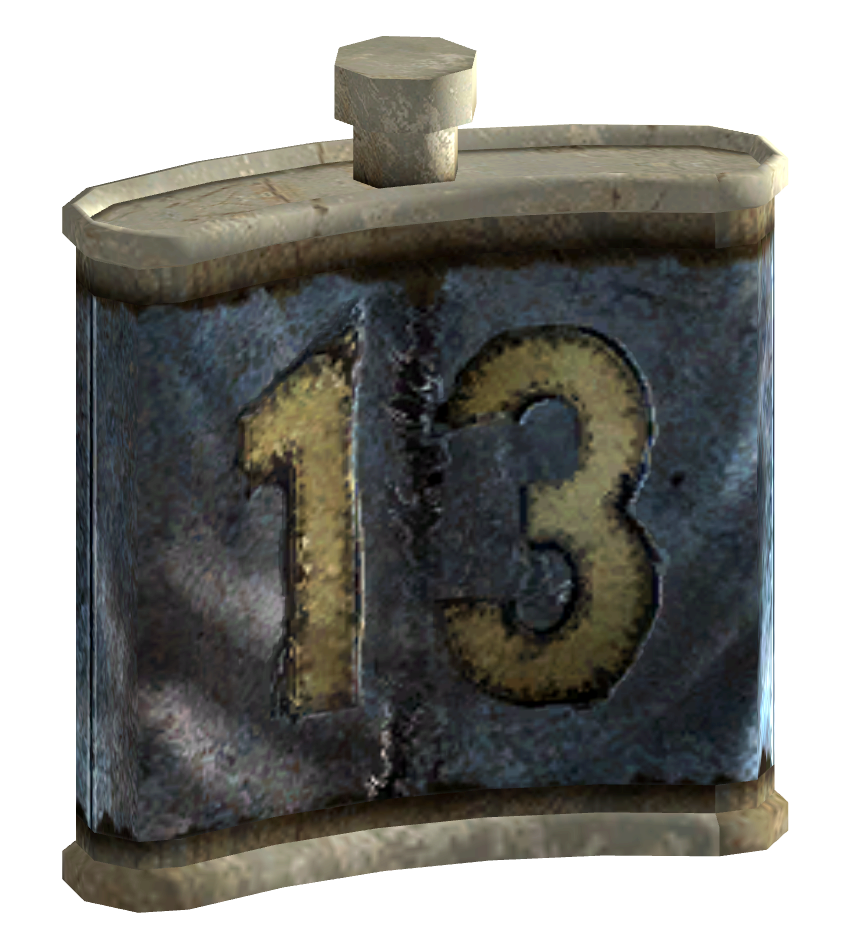 Dog Water Bottle >> Vault 13 canteen   Fallout Wiki   Fandom powered by Wikia