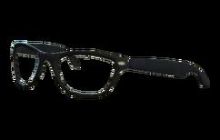 Black-rim glasses