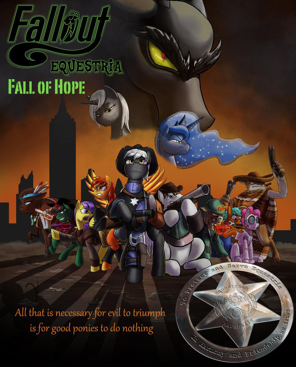 Fallout Equestria Fall Of Hope Fallout Equestria