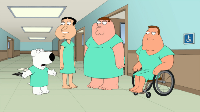 Family Guy And American Dad Comparison Forget-Me-Not |...