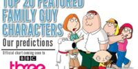 Family Guy: The Top 20 Characters