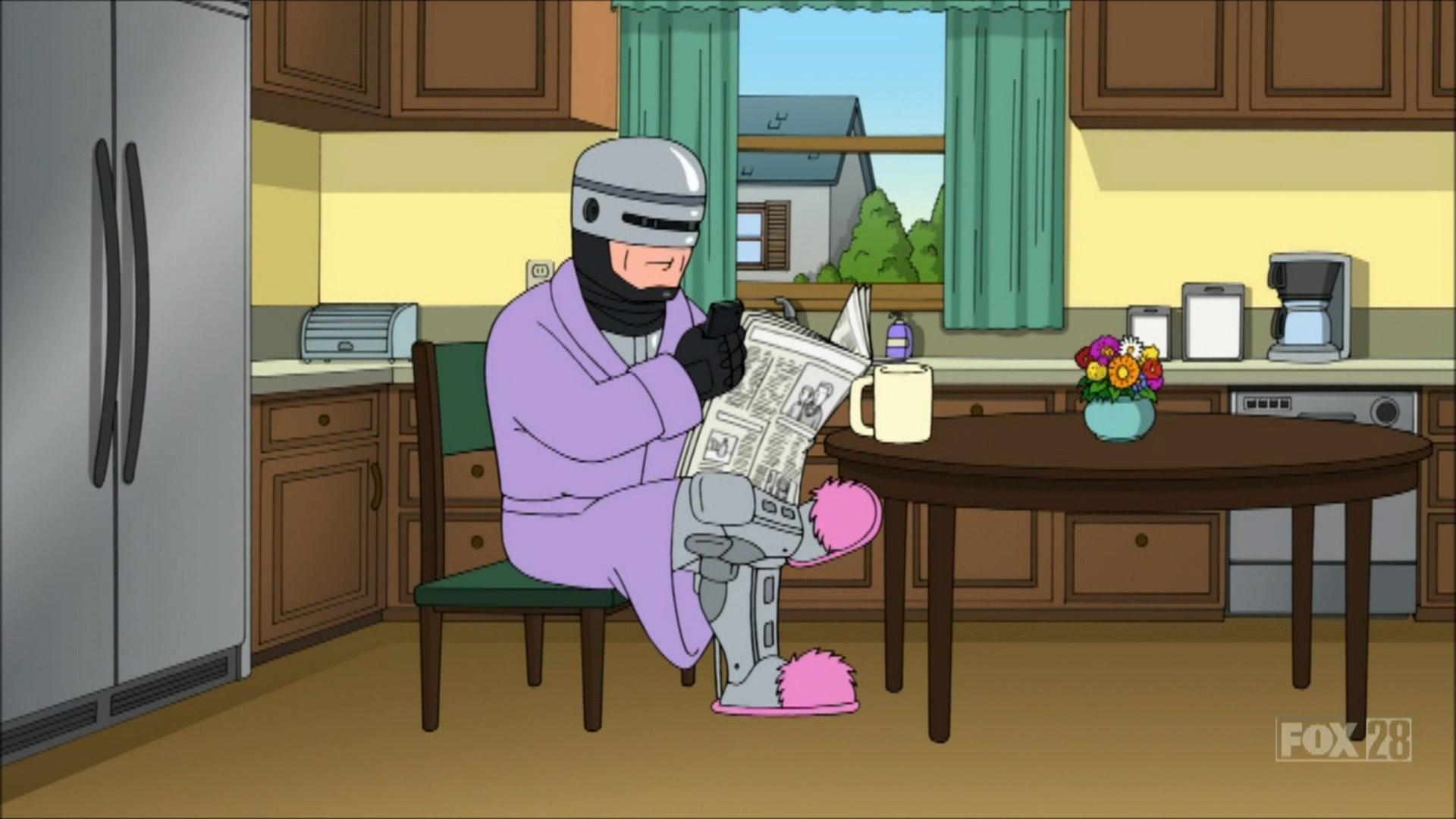 RoboCop | Family Guy Wiki | Fandom powered by Wikia Quagmire And Meg