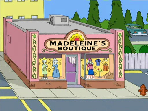 madeleine 39 s boutique family guy wiki fandom powered by wikia. Black Bedroom Furniture Sets. Home Design Ideas