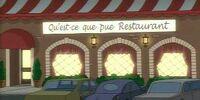Qu'Est-ce que pue Restaurant
