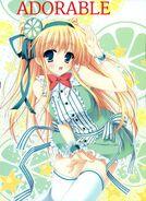 Mariko look like this after transfrom as princess shine