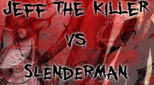 Jeff vs Slenderman