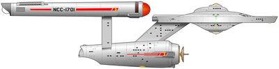 USS Enterprise (NCC-1701), pre refit