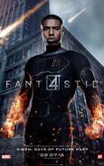 Human Torch 2015 poster