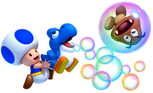 File:Baby Blue Yoshi and Blue Toad MarioWiiU.png