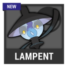 ACL -- Super Smash Bros. Switch Pokémon box - Lampent