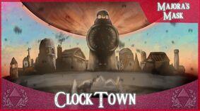 Clock town dawn of the 4th day by paintguru24-d3fl5wv