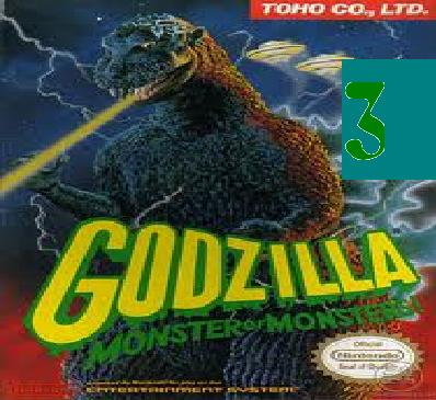 Godzilla Monster of Monsters 3