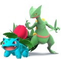 Sceptile and Ivysaur (SSBGF)