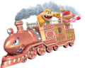 Boom Boom Pom Pom Train - Super Mario 3D World