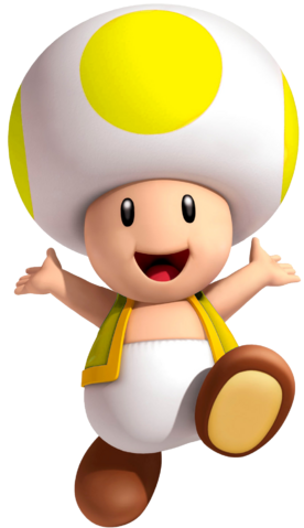 File:Yellow Toad SM3DW.png