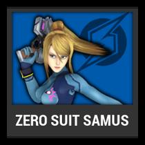 ACL -- Super Smash Bros. Switch character box - Zero Suit Samus
